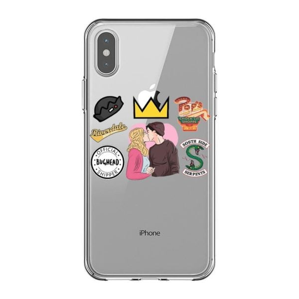 , American TV Riverdale Soft Silicone Phone Case for iPhone X 6 7 8 plus 5 5s SE 6S Southside Serpents Cover For iPhone XS MAX XR