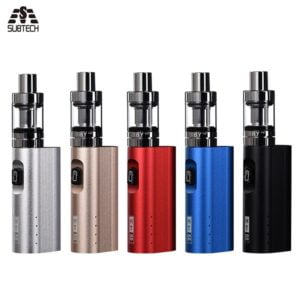 , E-cigarette Yiousi V5 mod kit 3000mAh Battery capacity 4.0ml  Capacity for Aurora Led Light Tank fit 510 Thread vape pen mod