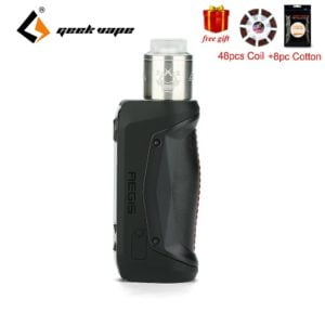 , Electronic Cigarette Set Steam Smoke Kit With 3Ml Tank Atomizer Large Clouds With 80W Low Wattage Vaporizer Vape Tank
