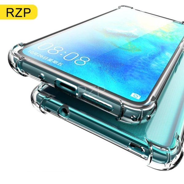 , RZP 3D Clear Transparent Phone Case For Huawei Mate 10 20 X  lite Pro Back Cover For Huawei Mate 20 lite Soft TPU Silicone Case