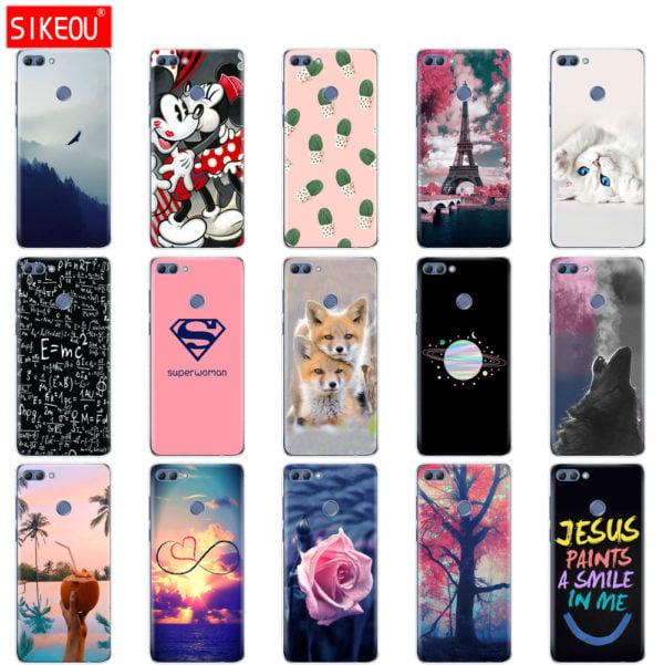 , phone case for huawei P smart 2018 coqa Enjoy 7S soft tpu silicone cover for huwei P smart case 5.65 inch cover funda