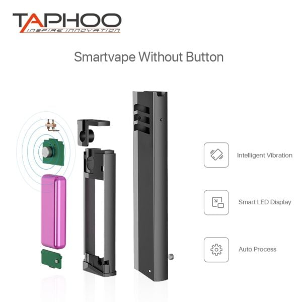 , VAPE PEN VAPECCINO pod system cartridge Kit Anti-Leaking 410mah Built-in Battery E Cigarette Mini Stick E Cigarette starter Kits