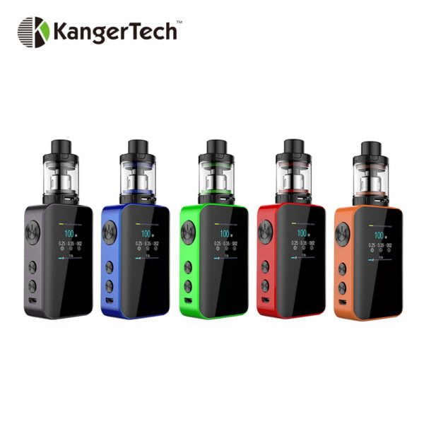 , 100W Kangertech VOLA TC Kit with 100W VOLA Box MOD & 2ml/4ml VOLA Tank Atomizer Built-in 2000mAh Battery E-cigarettes Vape Kit