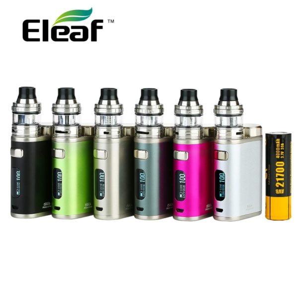 , Vape Kit Eleaf IStick Pico 21700 100W Kit with 2ml Ello Atomizer 4000mAh Battey Max 100W Output Eleaf IStick Pico Vs IKuun I200