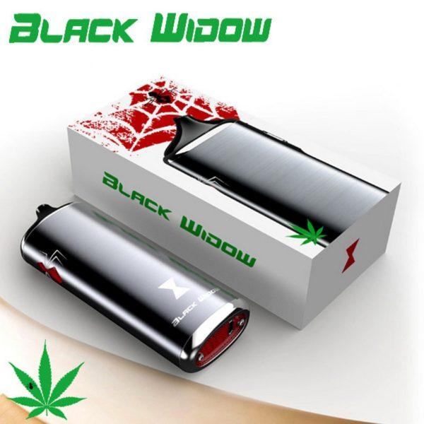, Original Kingtons herbal vaporizer Black Widow vapor box mod vaporizador dry vape dry herb vaporizer herbal e cigarettes