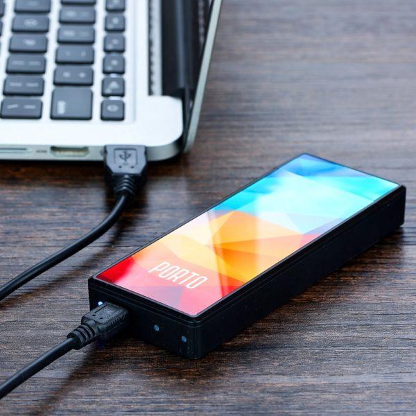 , Original VapeOnly Porto PCC Starter Kit with 800mAh Portable Charging Case & Dual Slim Pen-style E-Cig Vape Kit Vs Malle PCC Kit