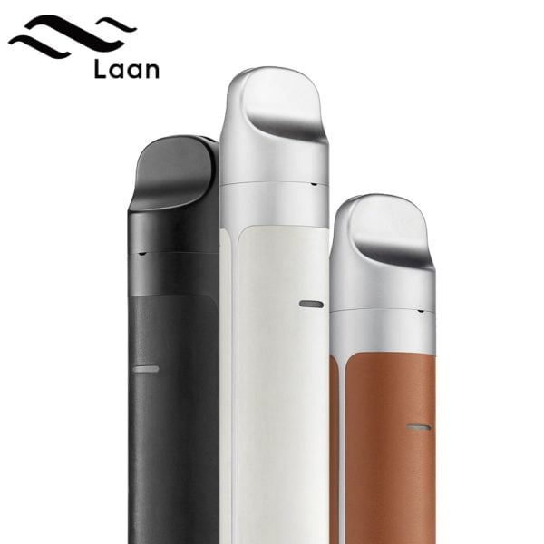 , Orignal Shanlaan Laan Pod Kit 40W with Sub-ohm Coil Button-Free 1300mAh Pod System Vaporizer E Cigarette with 2ml Cartridge Vape