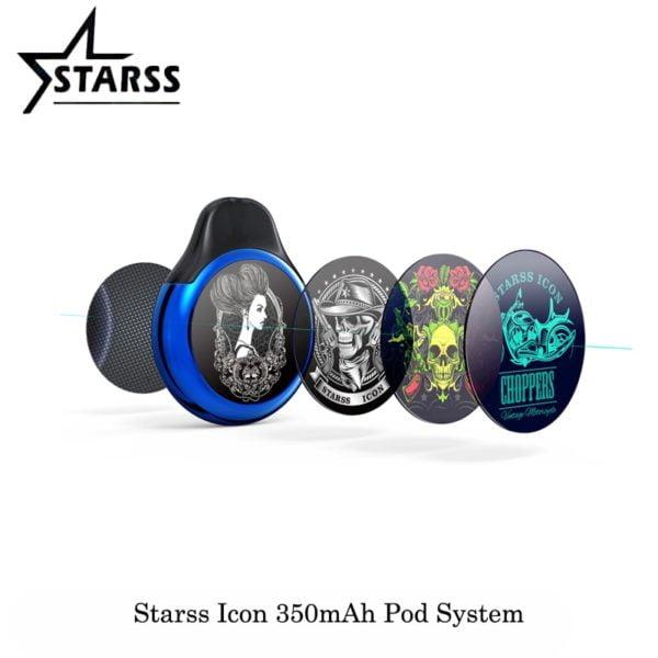 , Starss Icon 350mAh Kit Newest Pod System 4.6ml Capacity Cartridge Vape Kit Vaporizer electronic cigarette VS Justfog Minifit Pod