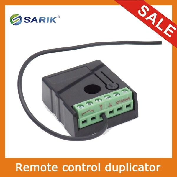 , Smart Electronics AC/DC 12V/24V 1 Channel Wireless Relay RF Remote Control Switch 433MHZ