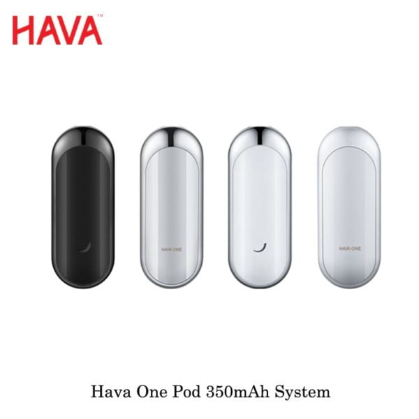 , Newest Cartridge Pod Vape Kit Hava One Pod Starter Kit All-in-one System 2 ml Capacity Catridge With 350mAh Internal Battery Kit