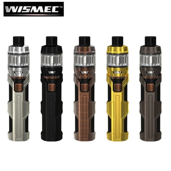 , Original WISMEC SINUOUS SW 3000mah Battery 50W Electronic Cigarette Vape Pen with Elabo SW Atomizer Fit WS01 Triple Coil